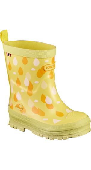 Viking Footwear Dråpe Kalosze Dzieci żółty/pomarańczowy